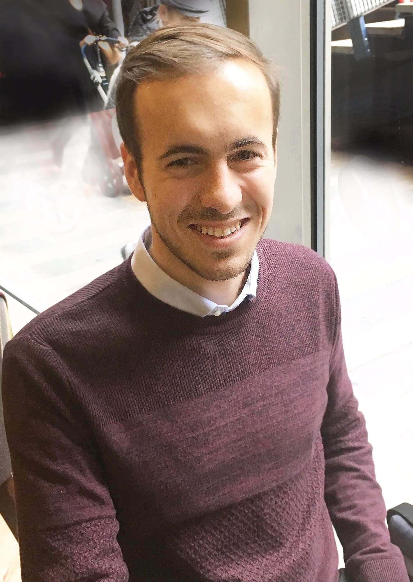 Koordinátor Pražského studentského summitu Adam Čejka