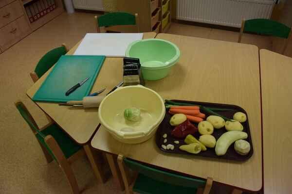Jak jsme dělali zeleninový koláč.