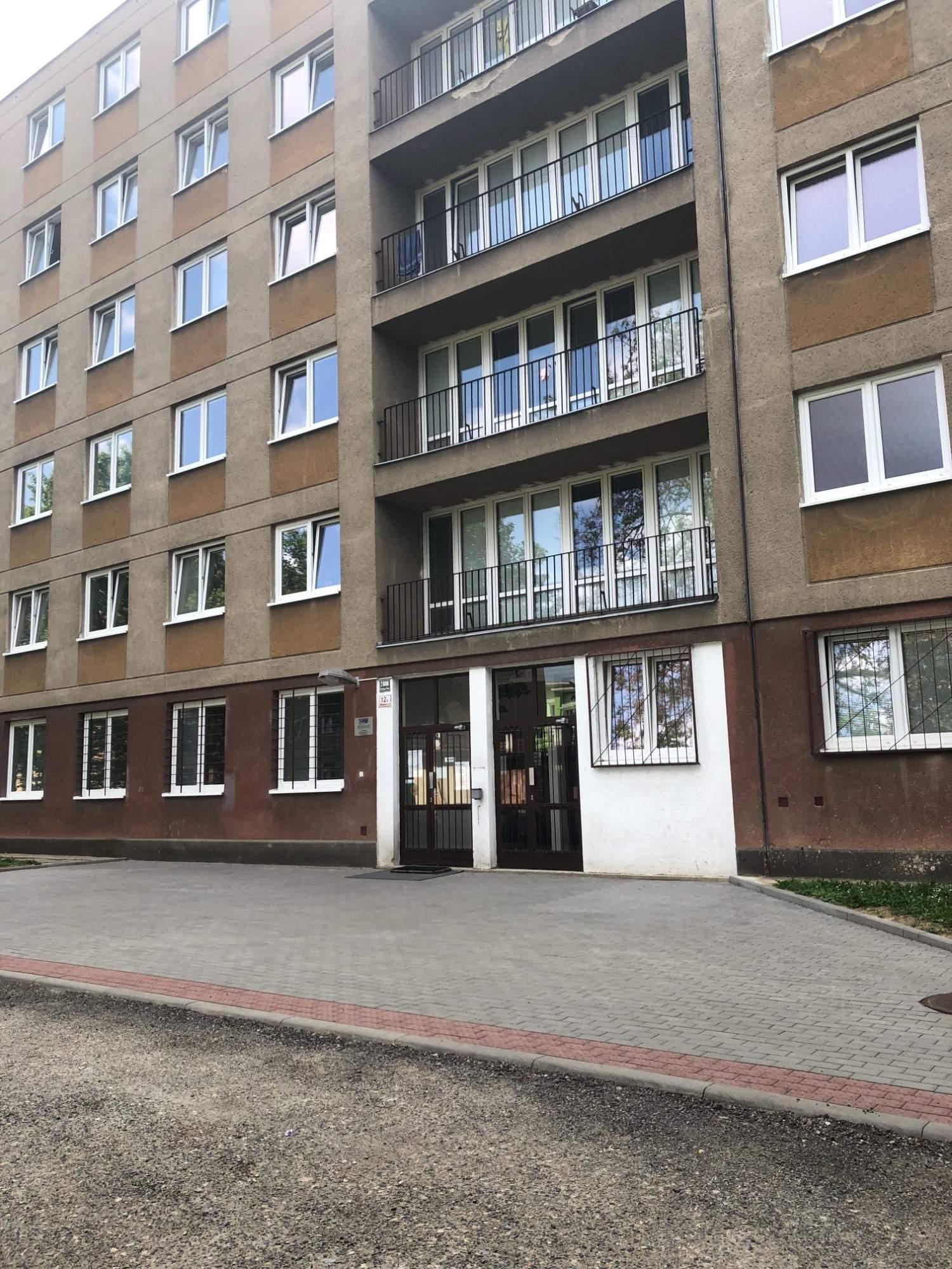 Budova koleje Mánesova