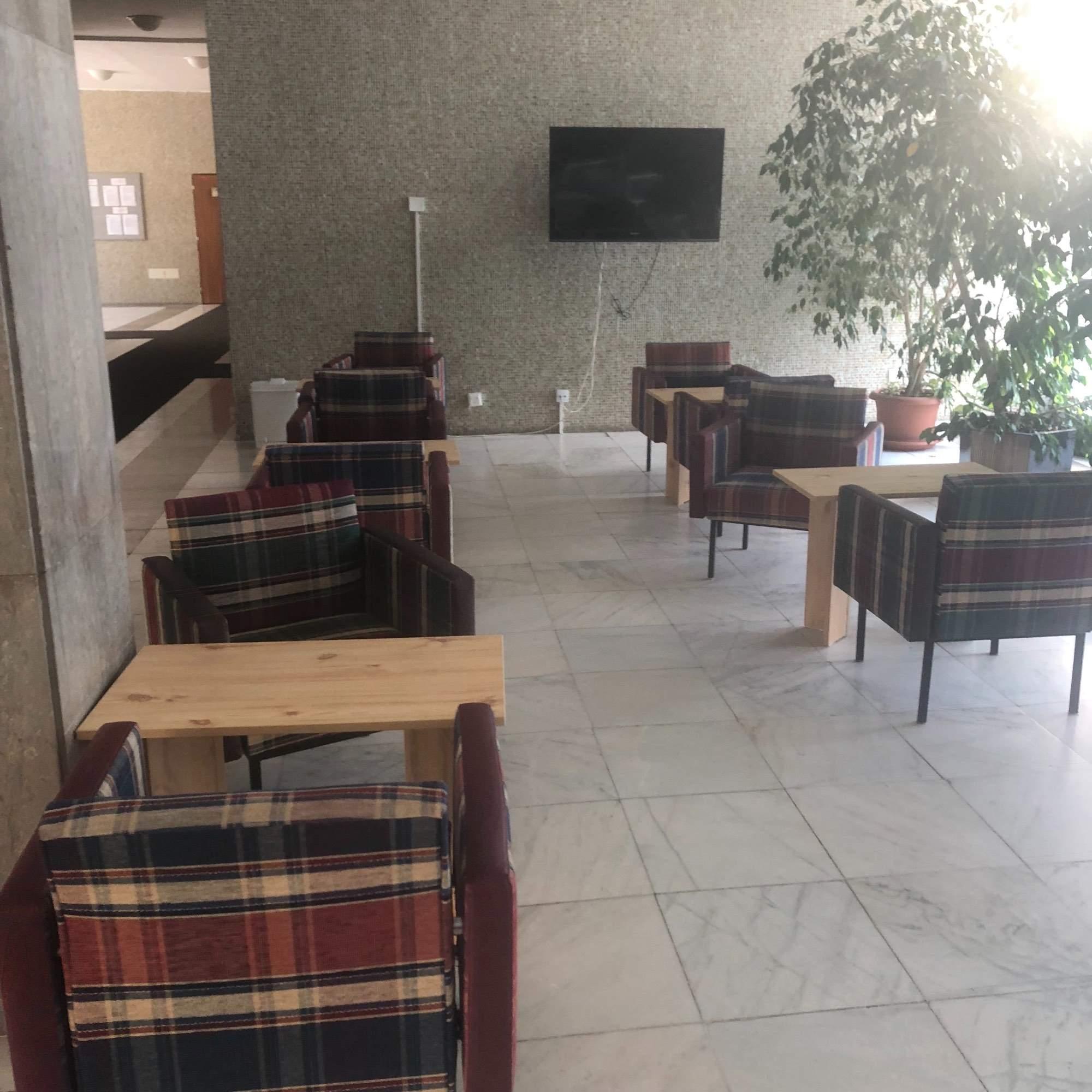 Společenská místnost koleje Vinařská
