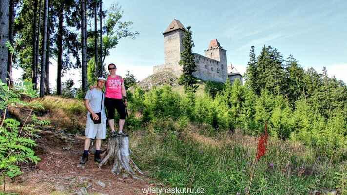 Cíl na dohled - hrad Kašperk