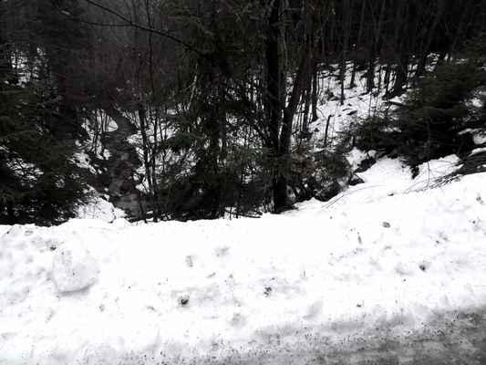 přítok rožnovské Bečvy Mečůvka, v Mečůvce