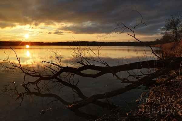 Vybízí k posezení a sledování západu slunce, ale foceno letos v lednu, byla zima.