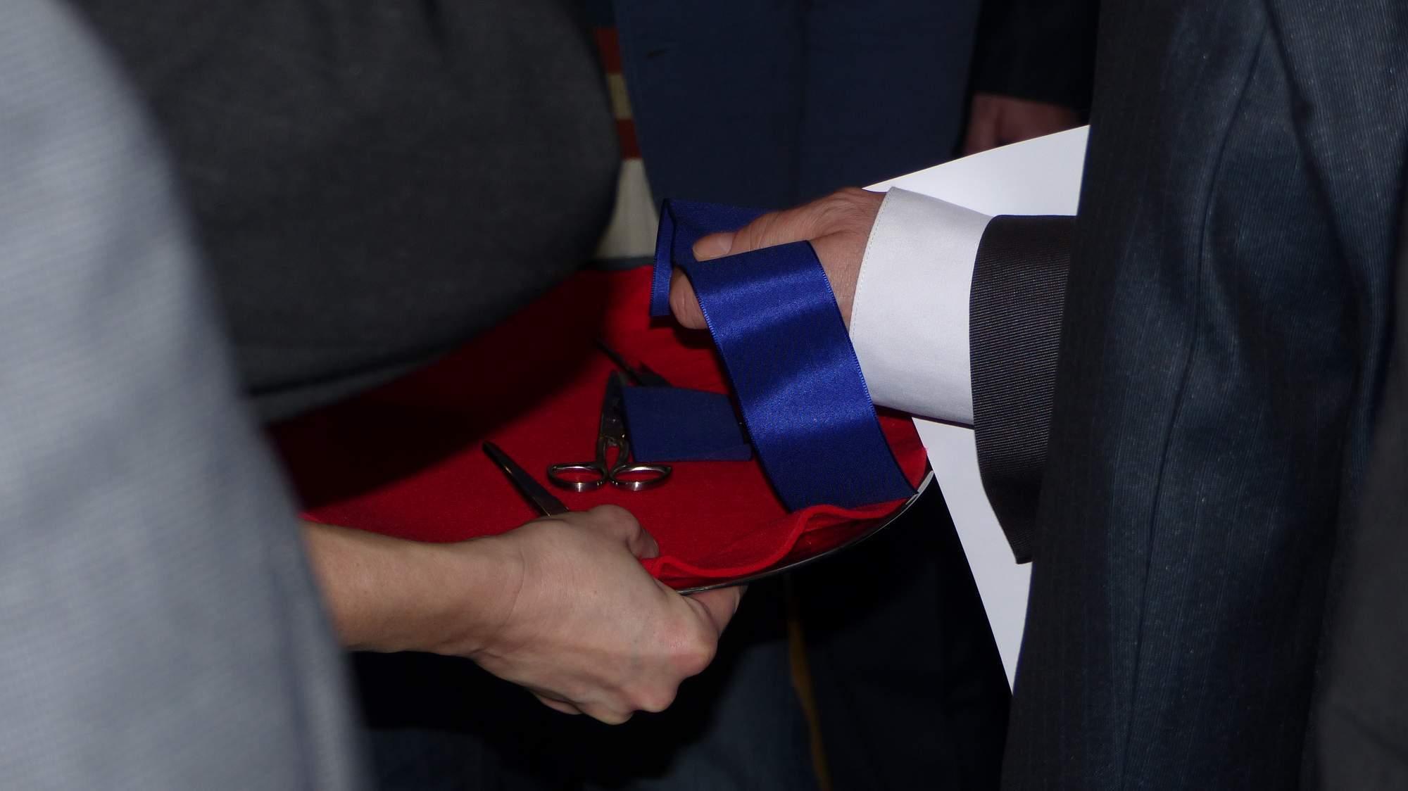 Slavnostní přestřižení pásky, Foto: Dominika Glaserová