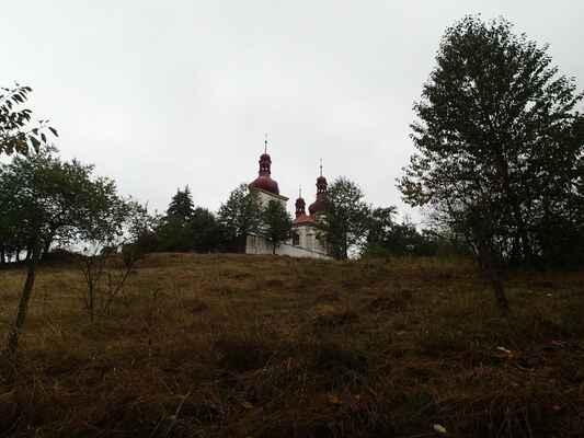 Kostel sv. Martina ve Strážišti.