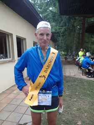 Ultramaratonec Zdeněk Doubek.