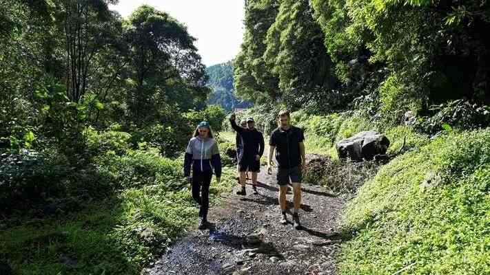 Cesta k vodopádů Salto de Prego