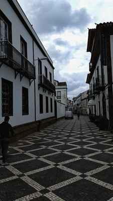Ulice hlavního města Ponte Delgada