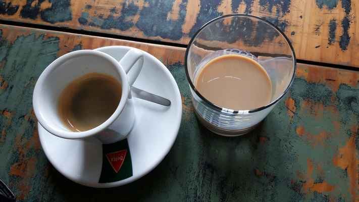 Snídaně, kafe&Baileys