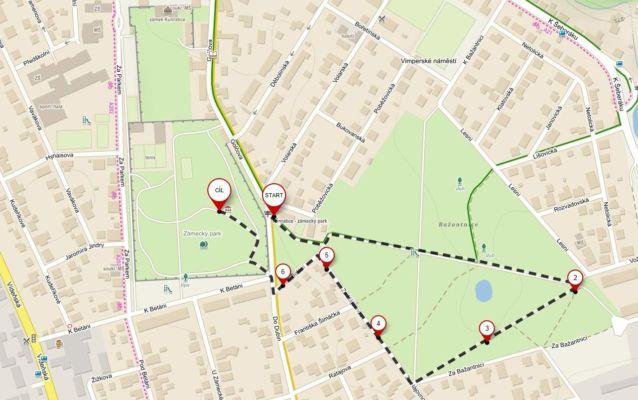Trasa nebyla náročná a měřila asi 1,5 km. Zkrátka byla to akce pro malé děti.