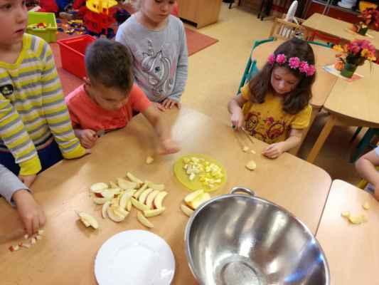 Pečení muffinů (1.třída)