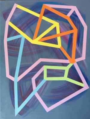 """58. Havlík Vladimír """"Krystal"""", olej na plátně, 50x60cm; 2006; 4 000 Kč"""