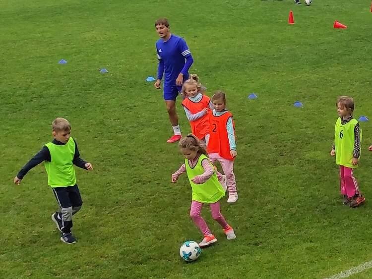 Nábor malých fotbalistů