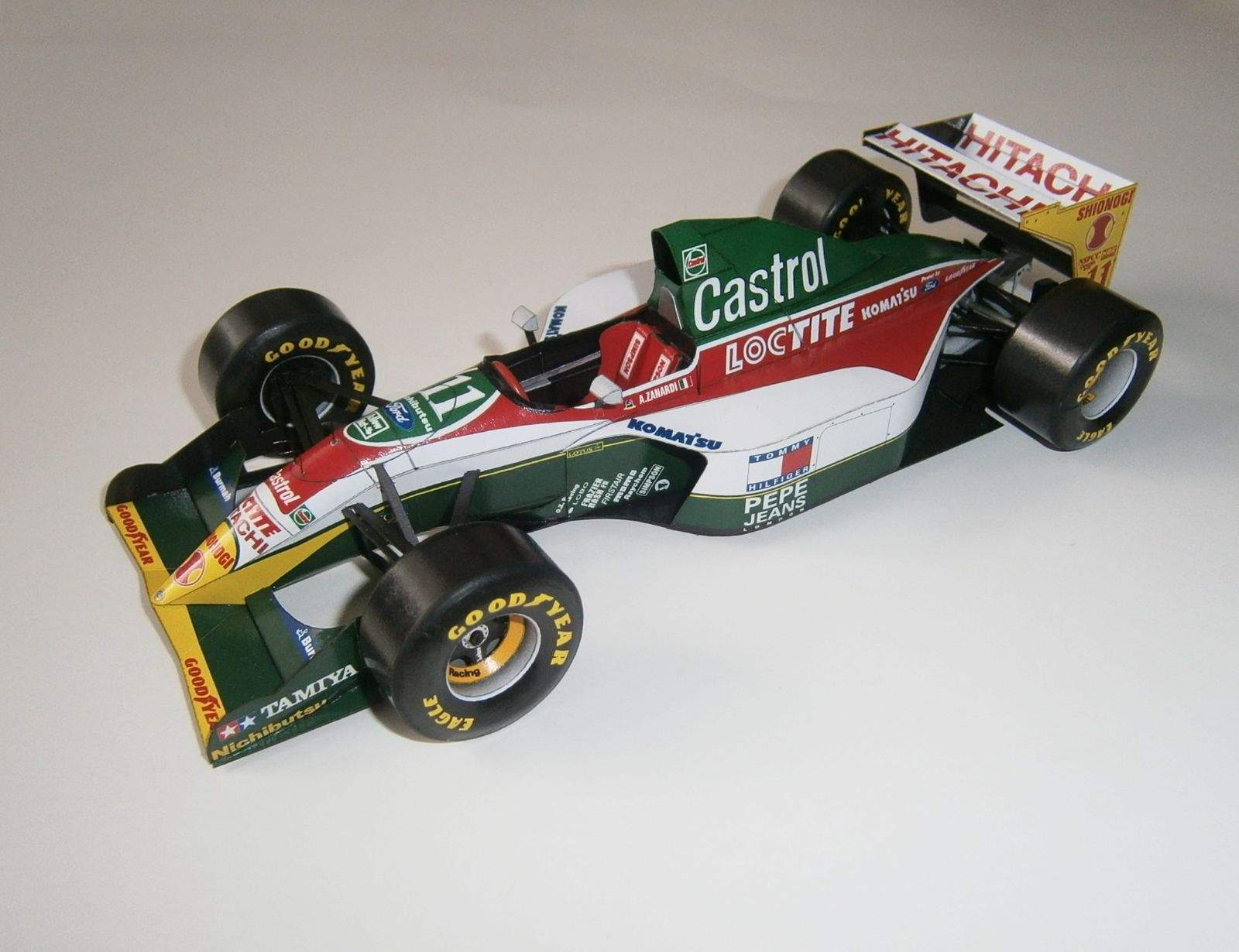 Lotus 107B - A.Zanardi, GP Monaco 1993