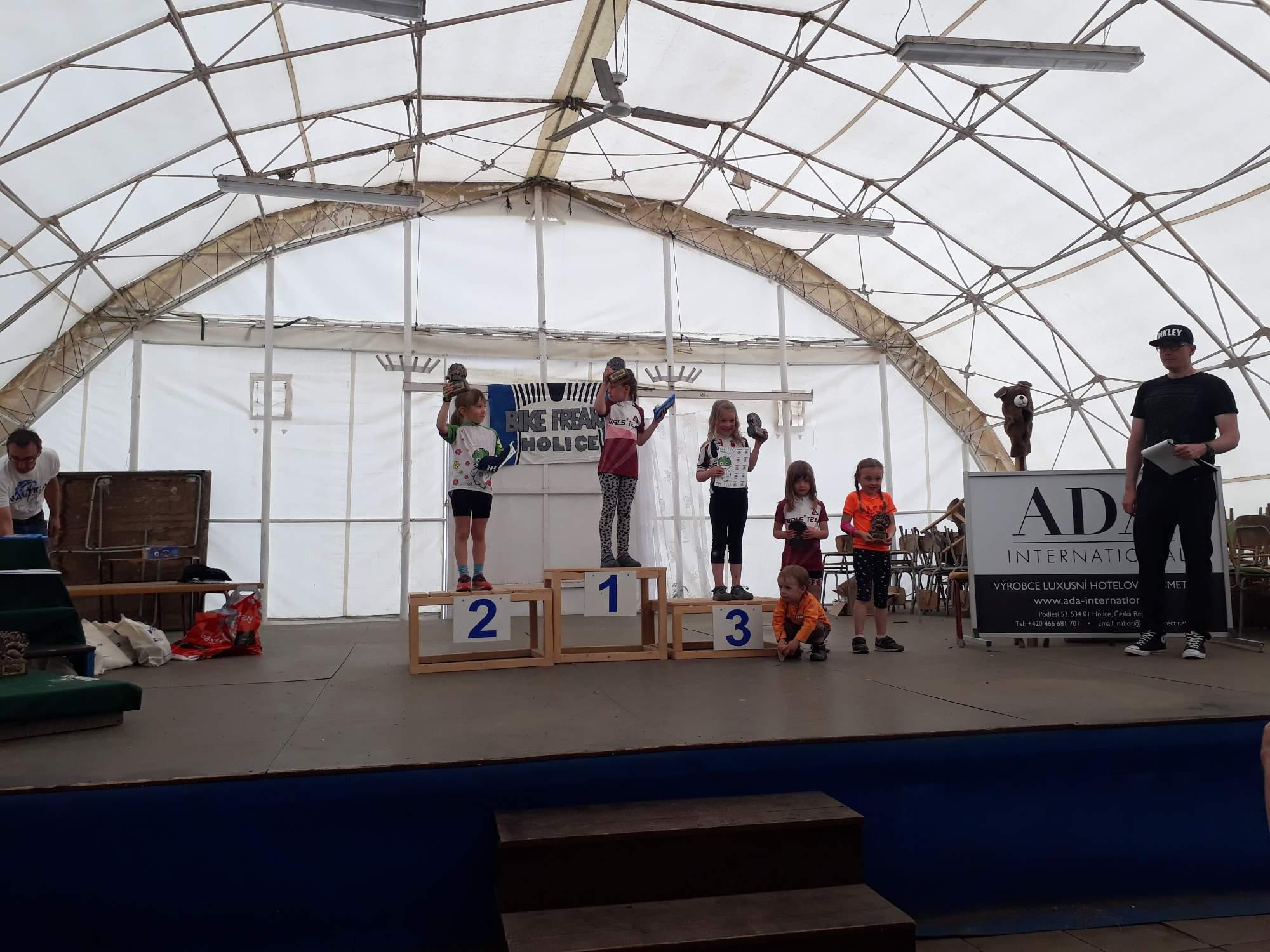 Vyhlašování vítězů. Foto: Kateřina Bečková