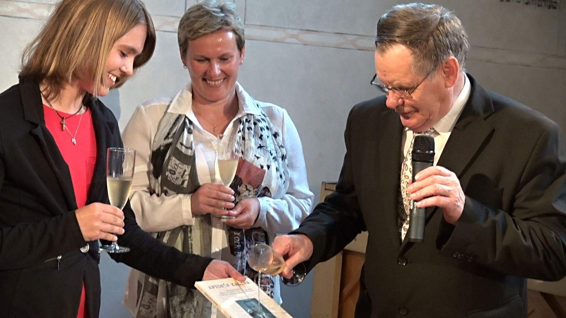 Křest knihy. Foto: trebic.news - František Jůza