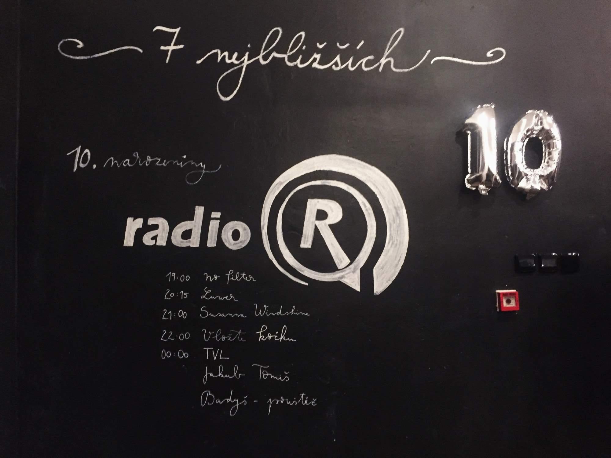 Študentské rádio oslávilo desať rokov vysielania