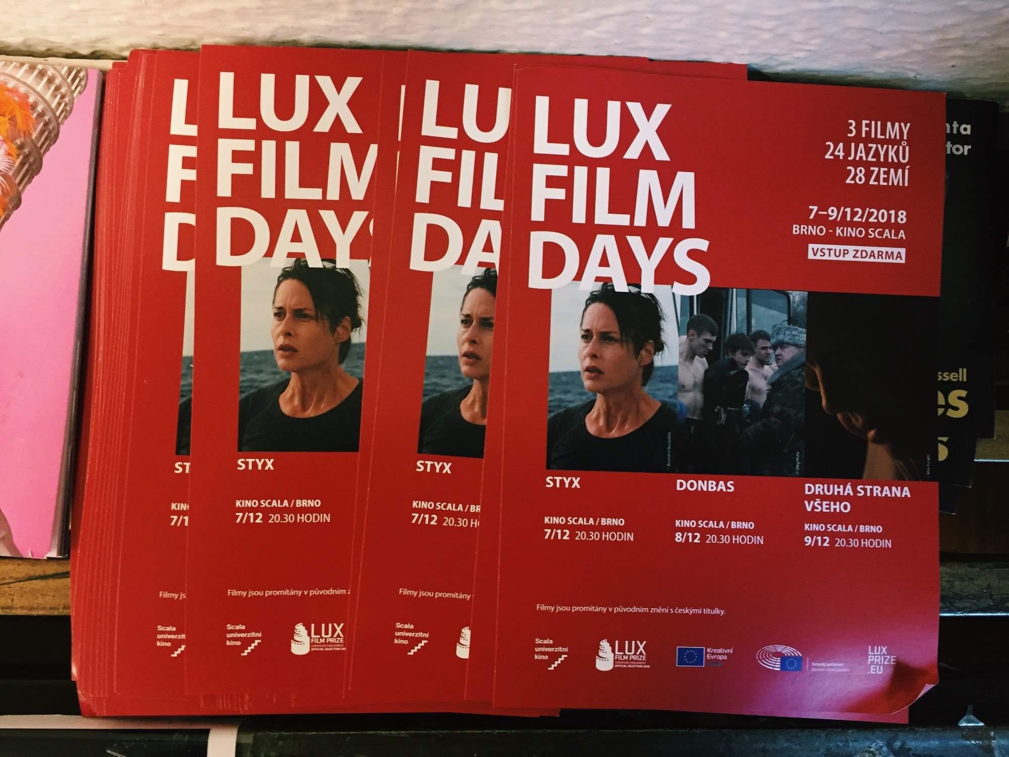 Cez víkend si diváci budú mocť pozrieť tri finálové snímky filmového festivalu LUX