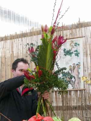 ... přidat řezané květiny ....