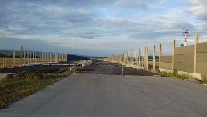 Most přes cestu do Vinar z Popovic