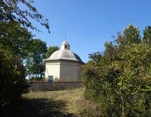 Obřadní síň u židovského hřbitova