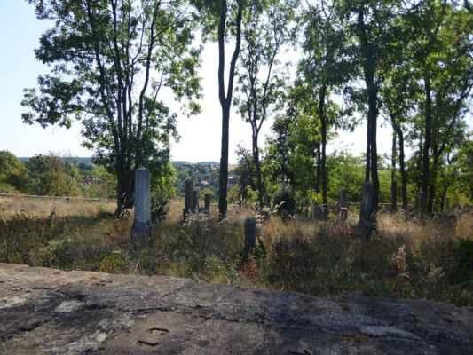 Židovský hřbitov založený v r. 1789