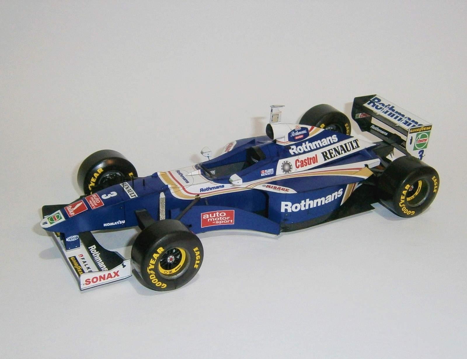 Williams FW19 - J.Villeneuve, GP European-Jerez 1997