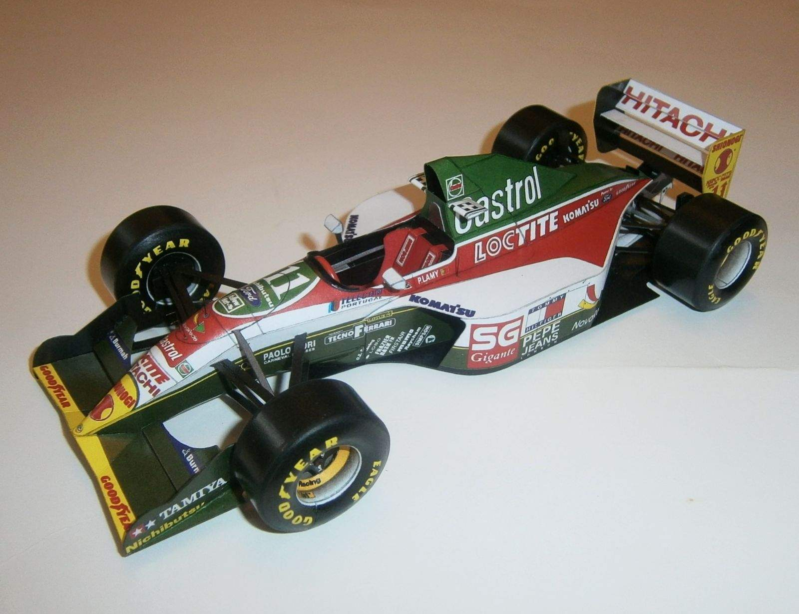 Lotus 107B - Pedro Lamy, GP Portugal 1993