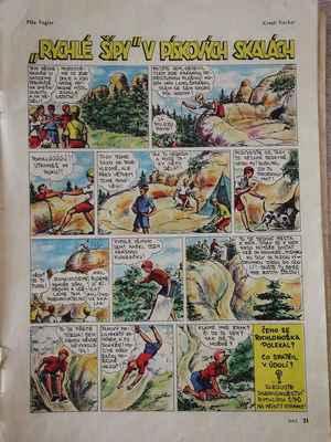 takto juliinu vyhlídku v populárním komiksu zvěčnil kraslíř fischer...
