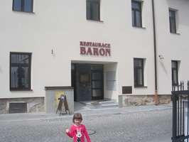 restaurace Baron, Karviná-Fryštát - po rekonstrukci (duben 2018)