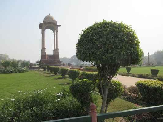 Další památník, Amar Jawan Jyotibyl přidán hodně později, poté, co Indie získala svou nezávislost.