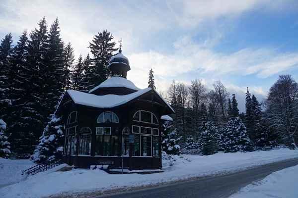 Karlova Studánka - Pitný pavilon