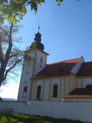 Komentovanou prohlídku kostela doplnil i malý varhanní koncert v podání p. Dr. Kryštofa Zusky z Českých Budějovic.
