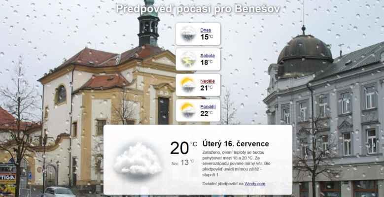 Předpověď na dnešní den už byla příznivá. Mělo by nás čekat jen příjemné slunečné počasí. A taky že čekalo :o)))