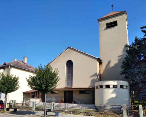 Mšeno, evangelický kostel