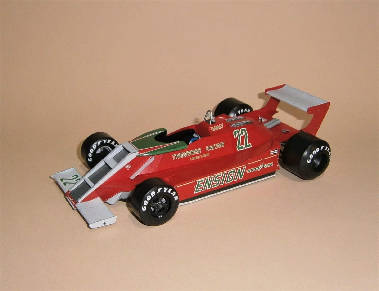 Ensign N179 - D.Daly, GP JAR-qualify 1979