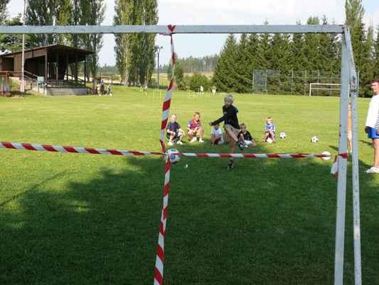 Olympiáda - Další disciplína olympiády: fotbalové dovednosti