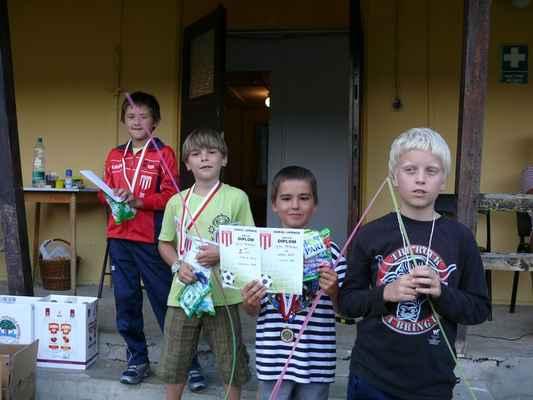 Medailisté - Medailisté v dlouhém běhu - nejmladší kategorie