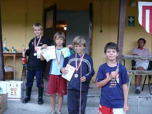 Medailisté - Medailisté v dlouhém běhu - prostřední kategorie