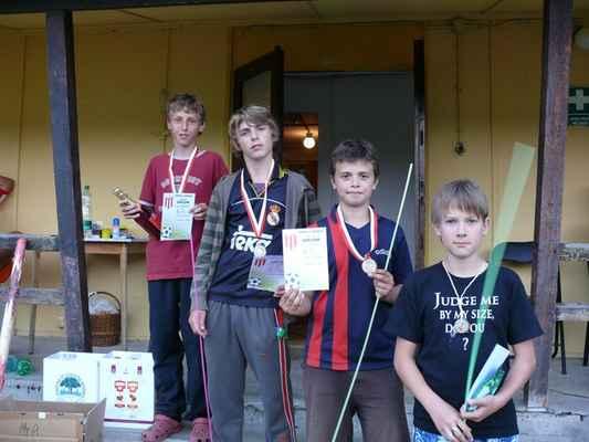 Medailisté - Medailisté v dlouhém běhu - nejstarší kategorie