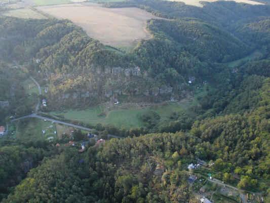 Kokořínské údolí po větrné smršti - Kokořínské údolí po větrné smršti